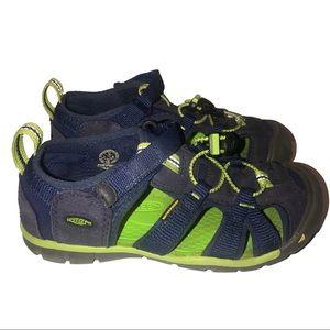Keen Newport H2 Water Shoes Navy Blue Green 13